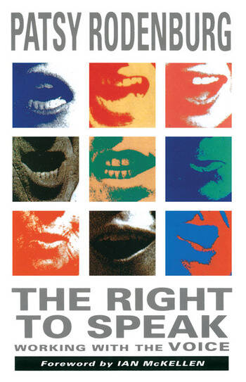 The Right to Speak Working with the Voice book cover