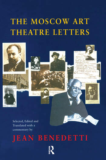 The Moscow Art Theatre Letters book cover
