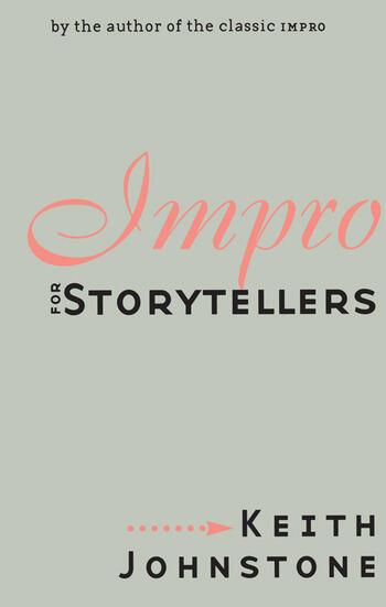 Impro for Storytellers book cover