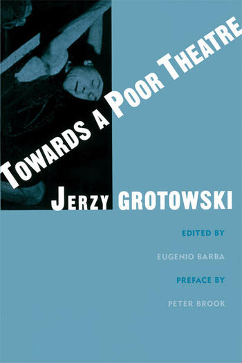 Towards a Poor Theatre book cover