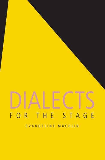 Dialects for the Stage book cover