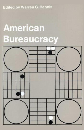 American Bureaucracy book cover
