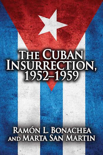 Cuban Insurrection 1952-1959 book cover