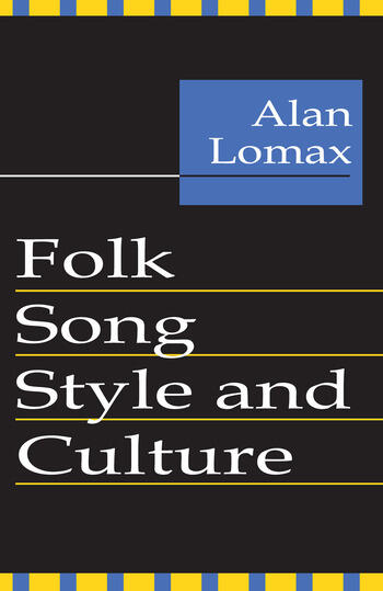Folk Song Style and Culture book cover