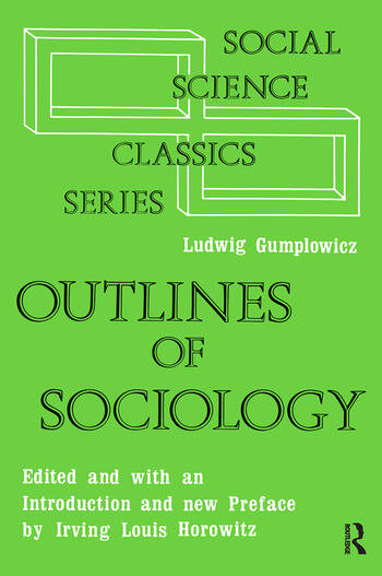 Outlines of Sociology book cover