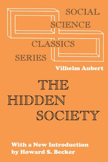 The Hidden Society book cover