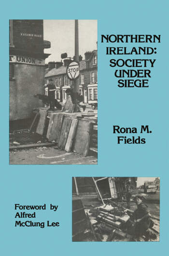 Northern Ireland Society Under Siege book cover