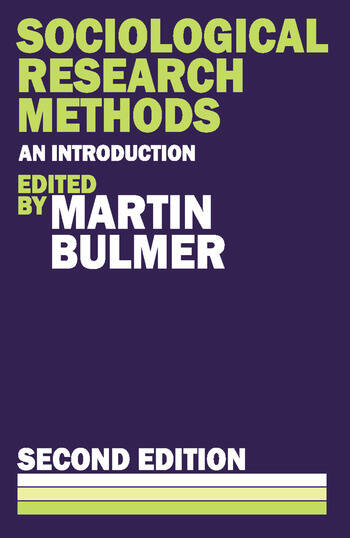 Sociological Research Methods book cover