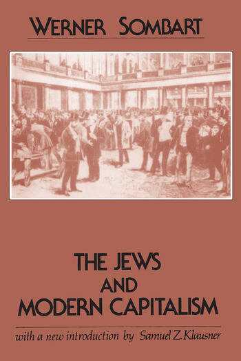 The Jews and Modern Capitalism book cover