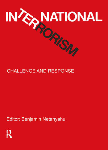 International Terrorism Challenge and Response book cover