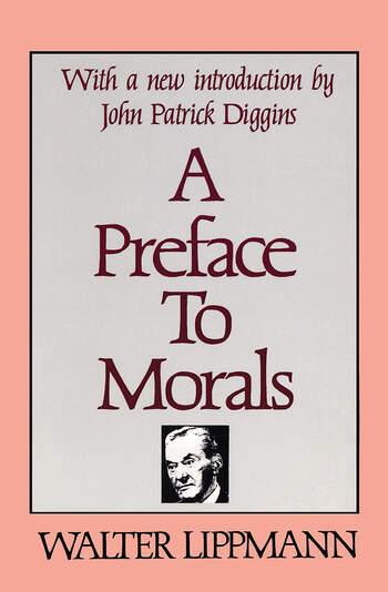 A Preface to Morals book cover