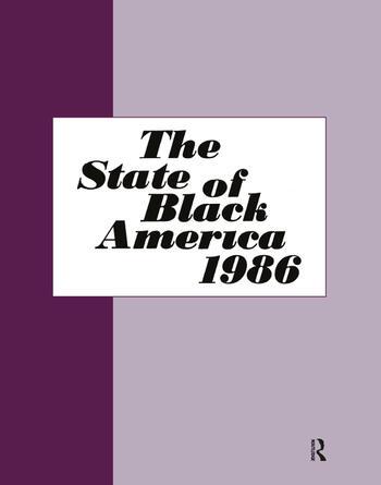 State of Black America - 1986 book cover