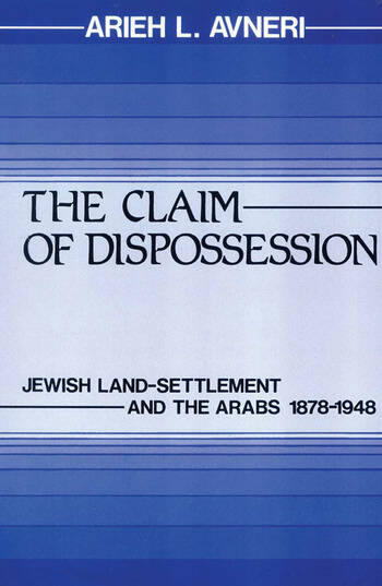 The Claim of Dispossession book cover