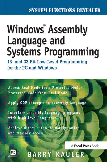 Windows Assembly Language and Systems Programming 16- and 32-Bit Low-Level Programming for the PC and Windows book cover