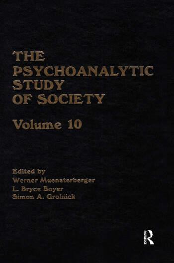 The Psychoanalytic Study of Society, V. 10 book cover