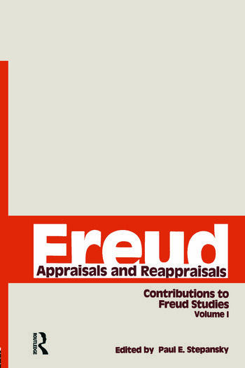 Freud, V.1 Appraisals and Reappraisals book cover