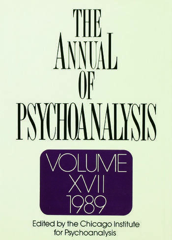 The Annual of Psychoanalysis, V. 17 book cover