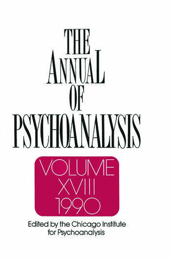 The Annual of Psychoanalysis, V. 18 book cover