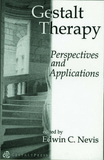 Gestalt Therapy Perspectives and Applications book cover