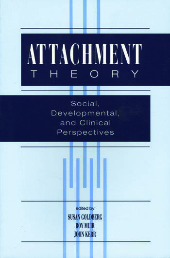 Attachment Theory Social, Developmental, and Clinical Perspectives book cover