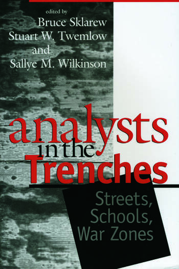 Analysts in the Trenches Streets, Schools, War Zones book cover