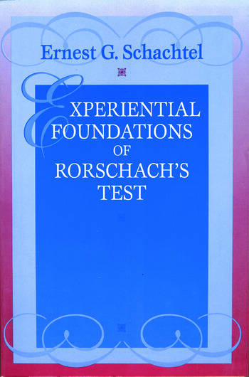Experiential Foundations of Rorschach's Test book cover