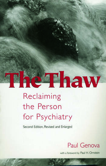 The Thaw Reclaiming the Person for Psychiatry book cover