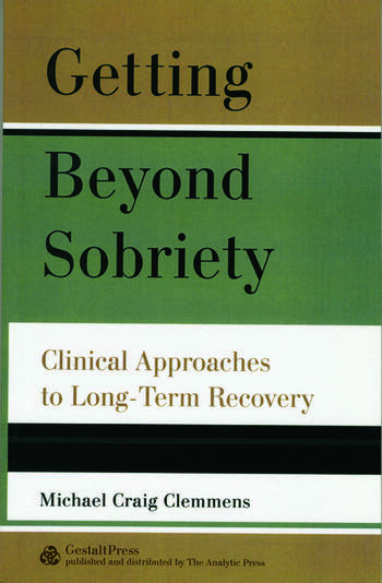 Getting Beyond Sobriety Clinical Approaches to Long-Term Recovery book cover