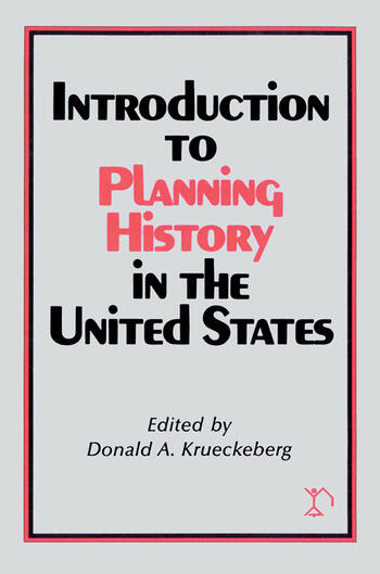 Introduction to Planning History in the United States book cover