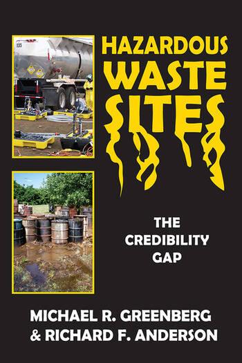Hazardous Waste Sites The Credibility Gap book cover