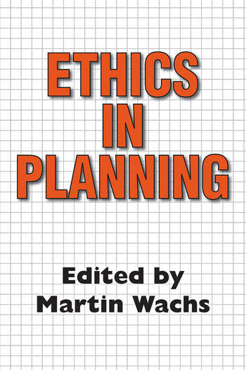 Ethics in Planning book cover