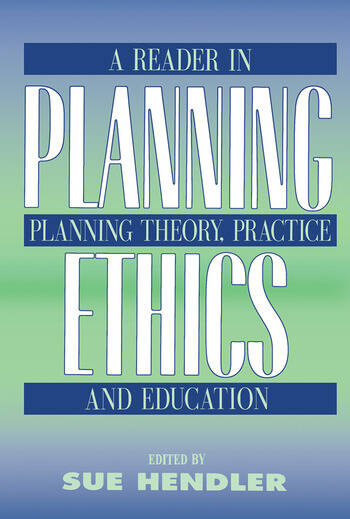 Planning Ethics book cover