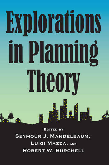 Explorations in Planning Theory book cover