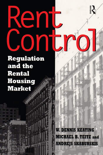 Rent Control in North America and Four European Countries Regulation and the Rental Housing Market book cover