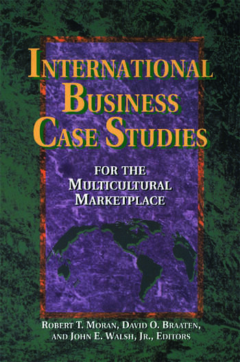 International Business Case Studies For the Multicultural Marketplace book cover