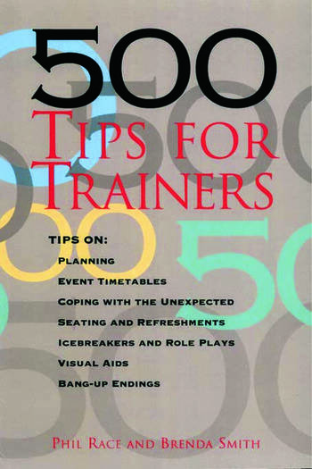 500 Tips for Trainers book cover