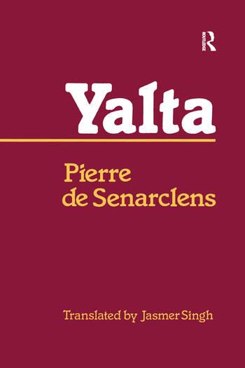Yalta book cover