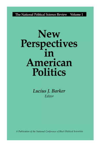 New Perspectives in American Politics book cover