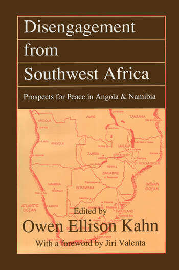 Disengagement from Southwest Africa Prospects for Peace in Angola and Namibia book cover