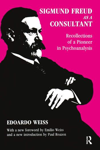 Sigmund Freud as a Consultant book cover