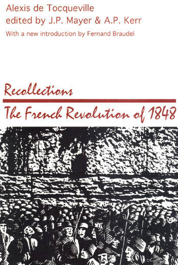 Recollections French Revolution of 1848 book cover
