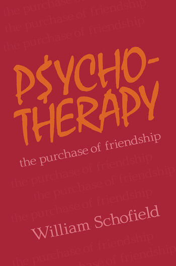 Psychotherapy The Purchase of Friendship book cover