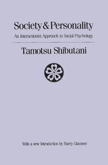 Society and Personality Interactionist Approach to Social Psychology book cover