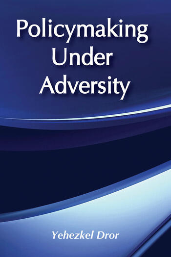 Policymaking under Adversity book cover