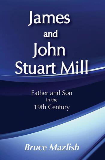James and John Stuart Mill book cover