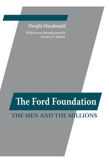 Ford Foundation book cover