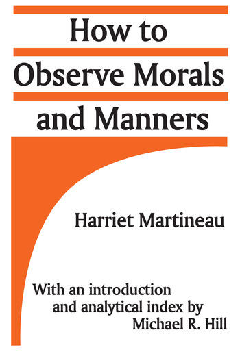 How to Observe Morals and Manners book cover