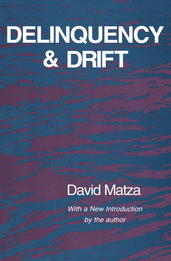 Delinquency and Drift book cover