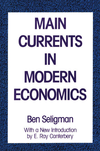 Main Currents in Modern Economics book cover