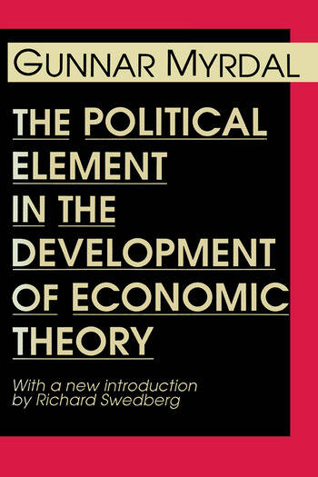 The Political Element in the Development of Economic Theory book cover